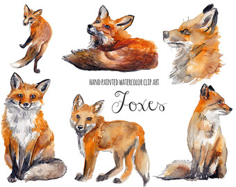 Red Fox clipart guides #13