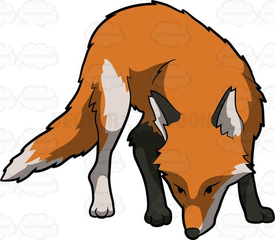 Red Fox clipart omnivore #2