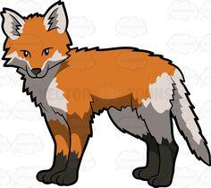 Red Fox clipart omnivore #3