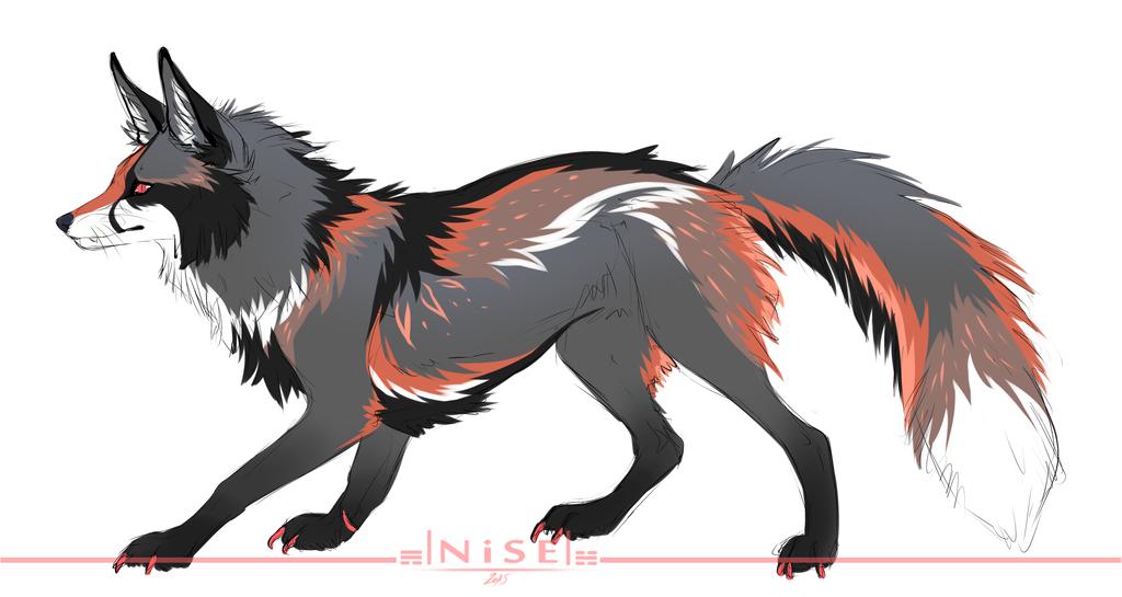 Red Fox clipart silver fox DNiseb fox DeviantArt CM silver