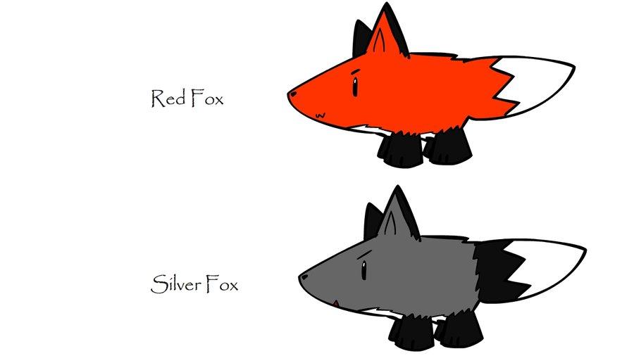 Red Fox clipart silver fox Fox DeviantArt Silver Silver Fox