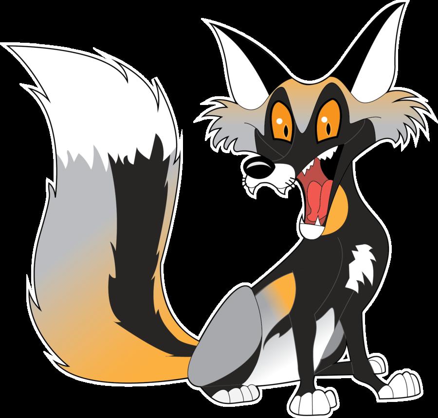 Red Fox clipart silver fox #12
