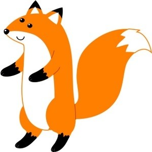 Red Fox clipart white tailed #5