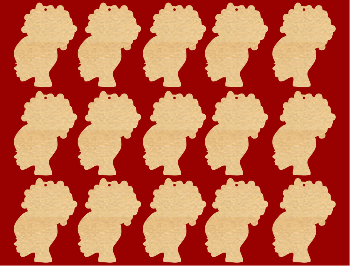 Red Hair clipart afro Afro Silhouette Puff Clipart cliparts
