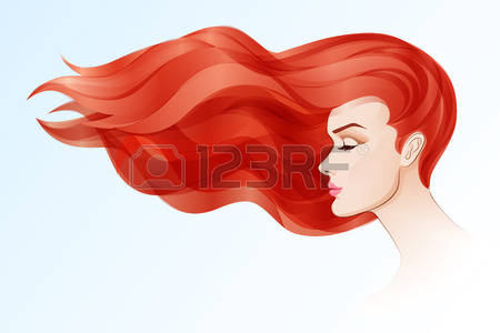 Red Hair clipart art Red Red Download clipart Red