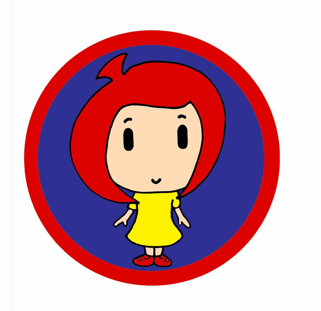 Red Hair clipart bad hair B Yellow Hair Cosplay Red