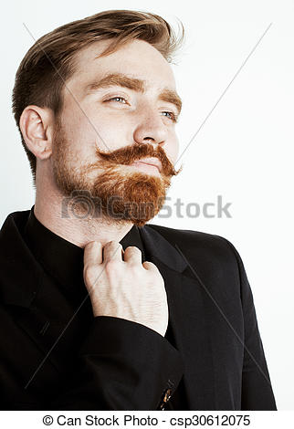 Red Hair clipart beard In hair Stock red suit