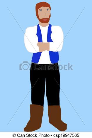Red Hair clipart beard Big Stock Man man of