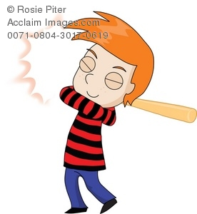Red Hair clipart boy Illustration of Playing Playing Boy
