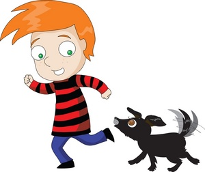 Red Hair clipart boy Clipart playing red Clipart A