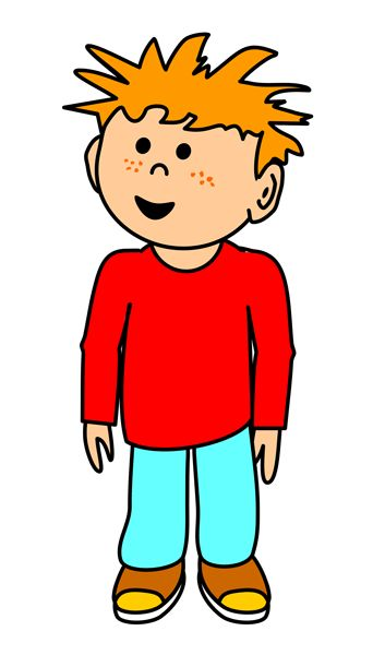 Red Hair clipart boy Clipart Crafts about images best