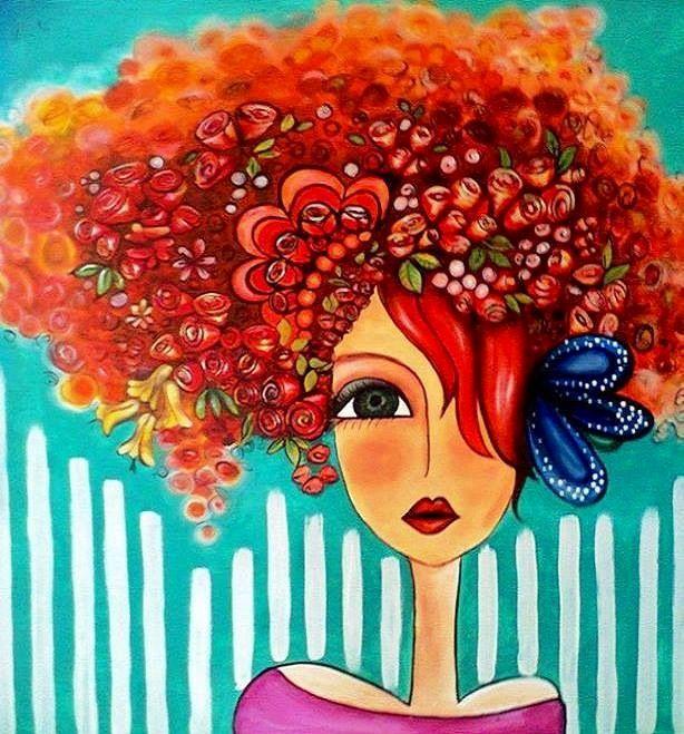 Red Hair clipart cartoon Lady via Red hair Facebook