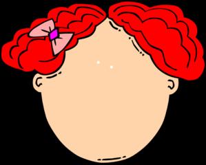 Red Hair clipart cartoon Clipart drawings Hair clipart Hair