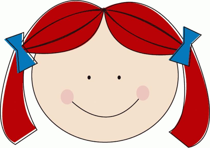 Red Hair clipart curly hair Home Clipart Clipart Hair Hair