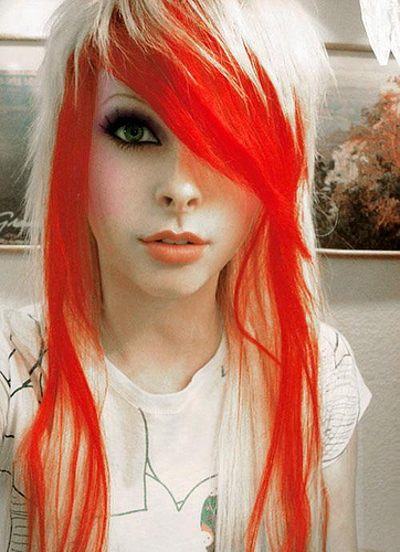 Red Hair clipart emo hair Hair obryadii00: black Ideas colored