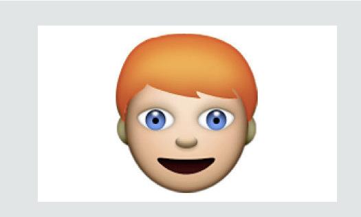 Red Hair clipart ginger hair Emoji · have Apple: redhead
