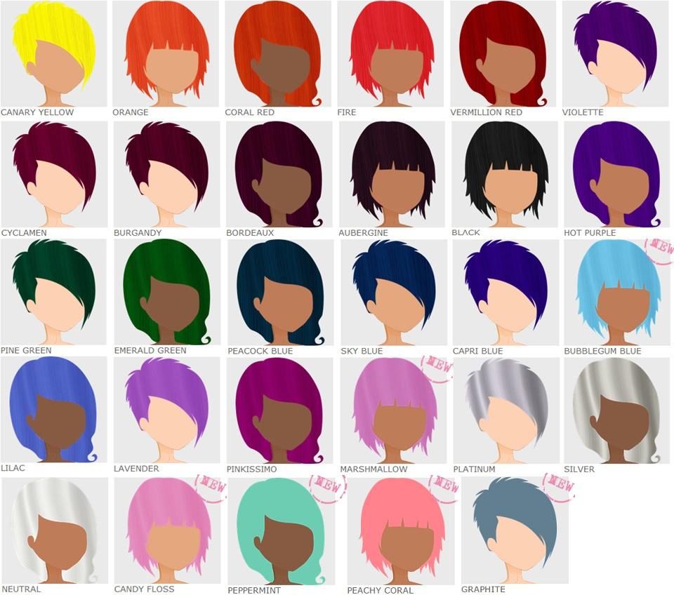Red Hair clipart hair colour Use Crazy Hair Color Colour
