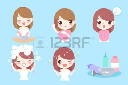 Red Hair clipart hair colour Clipart Stock 334 30 Vector