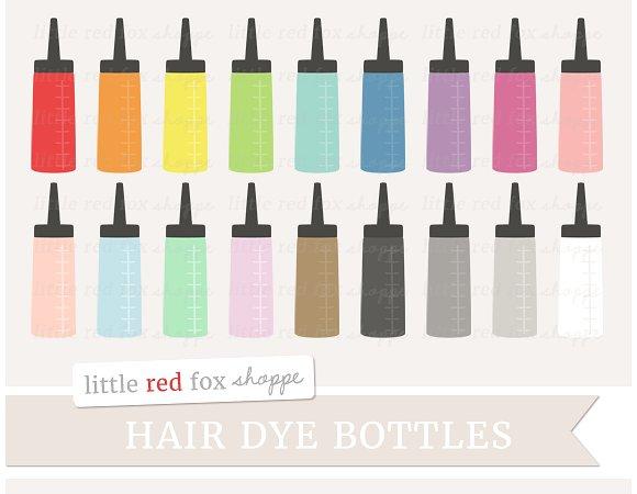 Red Hair clipart hair colour ~ Illustrations Dye Hair Hair