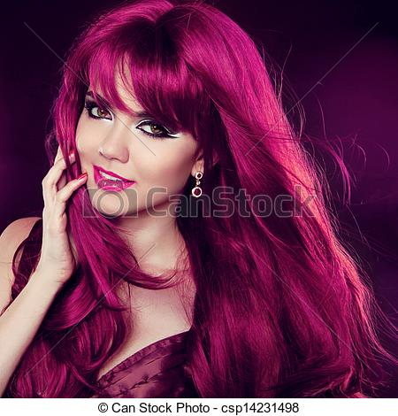 Red Hair clipart hairstyle Portrait Portrait Fashion Hair Curly