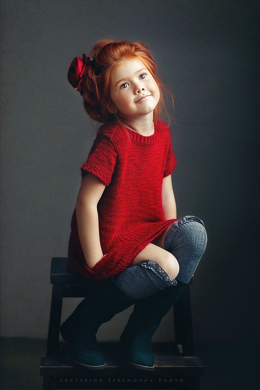 Red Hair clipart little baby Daughter dress only Pinterest totally