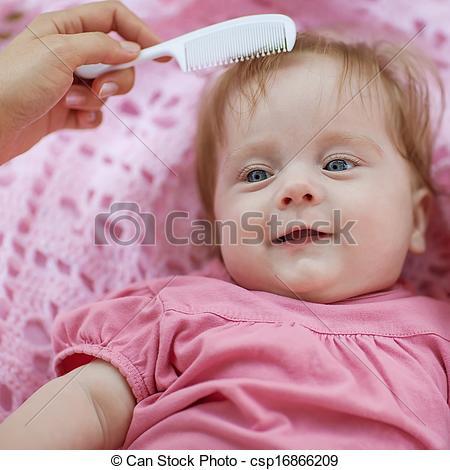 Red Hair clipart mother face Girl girl csp16866209 hair Stock