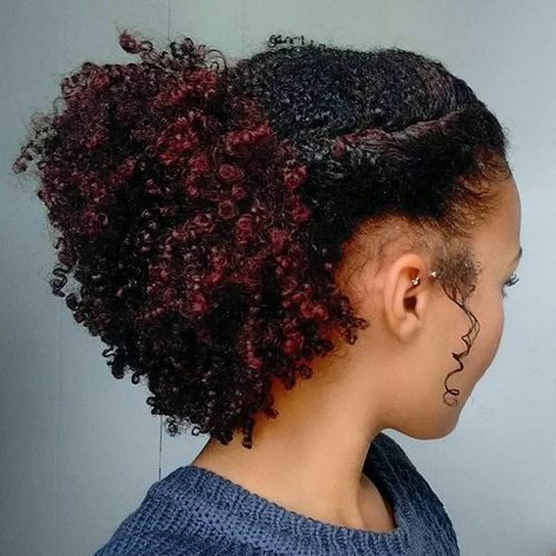 Red Hair clipart natural hair Hairstyles Best More Pinterest African