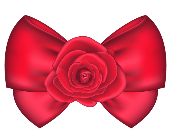 Red Hair clipart red bow #11