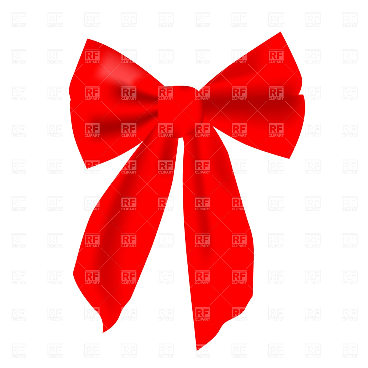 Red Hair clipart red bow #14