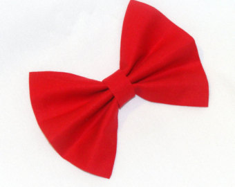 Red Hair clipart red bow #6