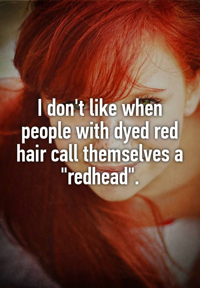 Red Hair clipart sad friend With ideas themselves call when