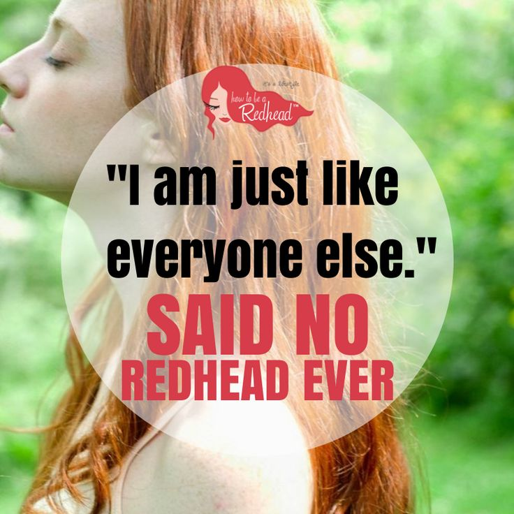 Red Hair clipart sad friend Else ideas EVER! Redhead like