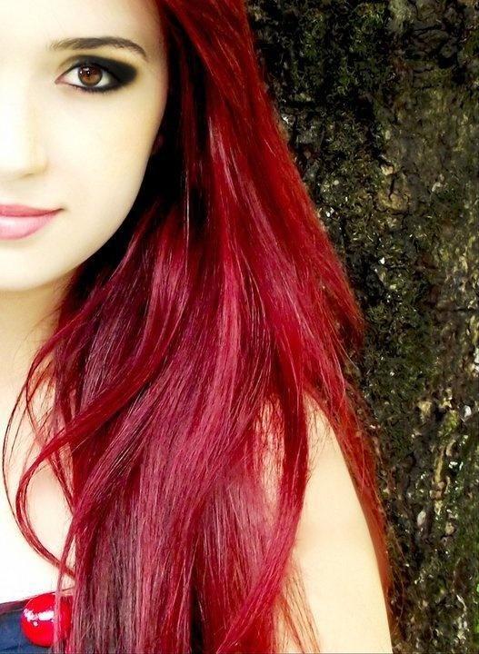 Red Hair clipart sad lady Brown redhead hair ideas long