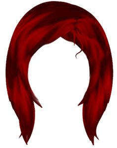 Red Hair clipart wig #8