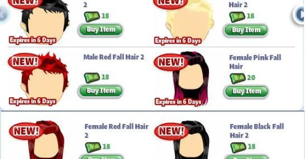 Red Hair clipart yoville  will style your Fall