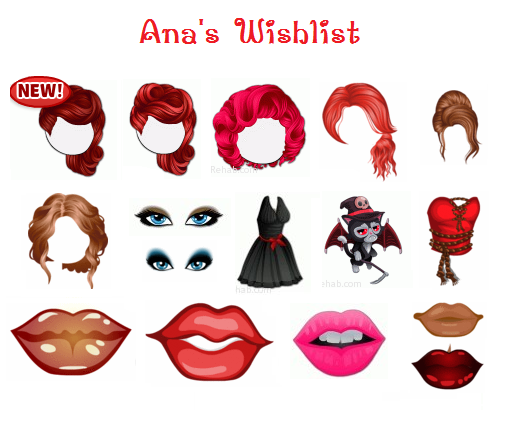 Red Hair clipart yoville Image View Thread Wishlist Forums