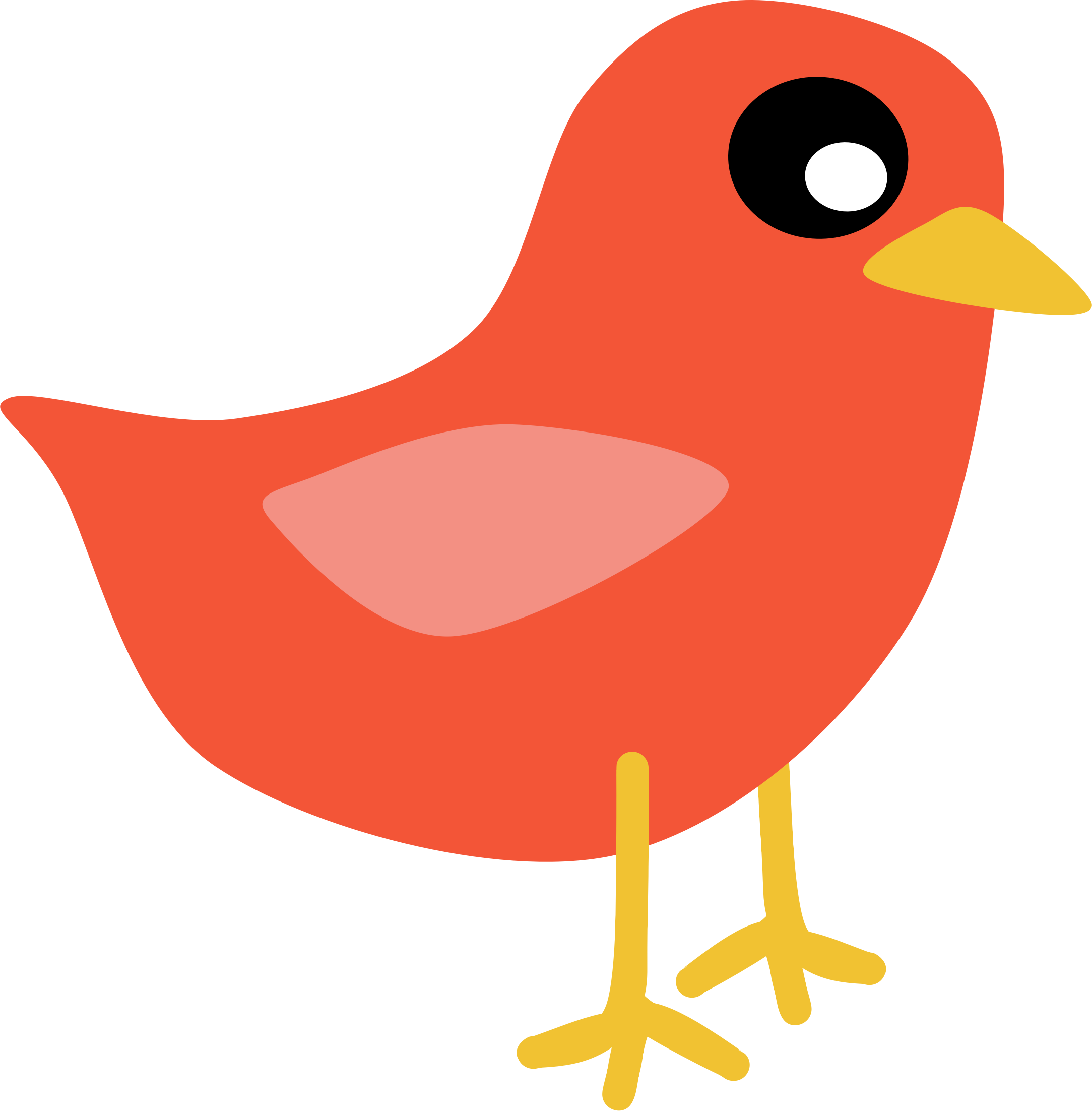 Bird clipart side view Birds art Cliparting com top