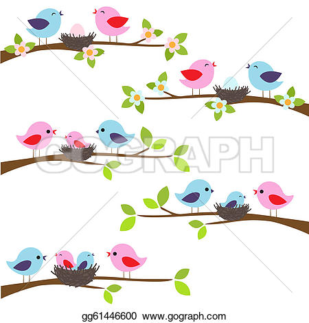 Red Headed Finch clipart spring bird #8