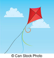 Red Kite clipart Sky Red kite EPS red