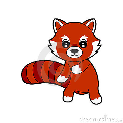 Red Panda clipart Clipart Art Panda Clip Images