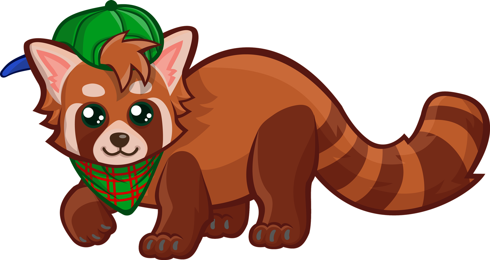 Red Panda clipart Clip Domain to Cute Free