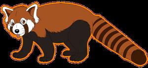 Red Panda clipart Art images art panda clip