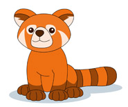 Red Panda clipart For Results From: Panda Kb