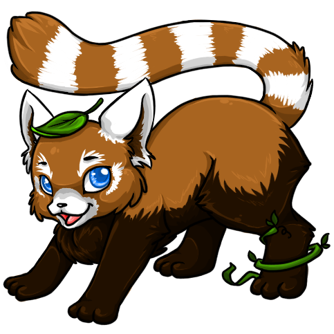 Red Panda clipart animal jam #4