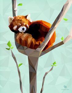 Red Panda clipart chubby #7