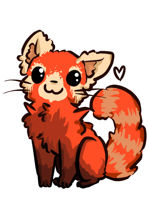 Drawn red panda transparent Red by DeviantArt PrismSky by