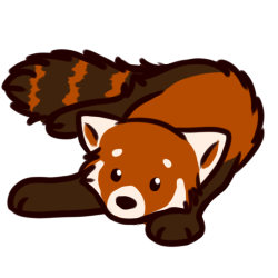 Drawn red panda transparent Panda Art Clip  Transparent