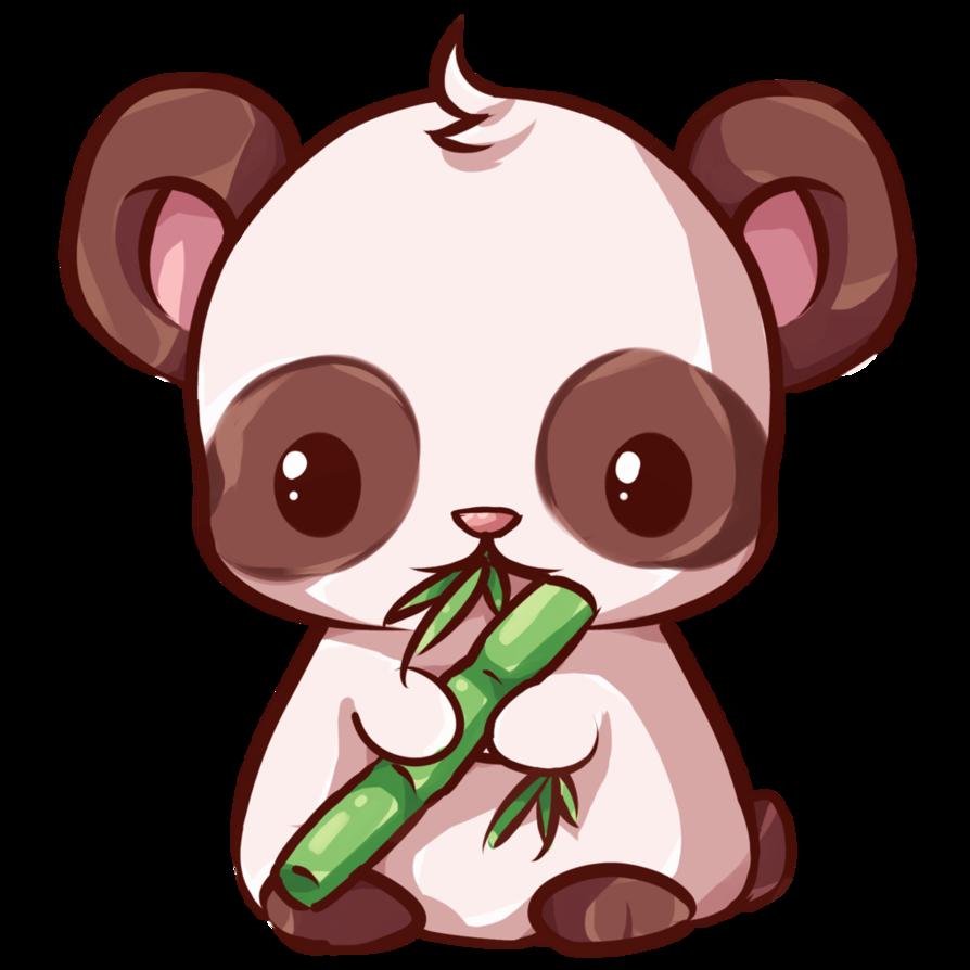 Red Panda clipart kawaii #7
