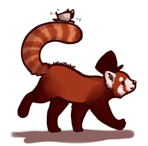Red Panda clipart newborn Panda red Red images what