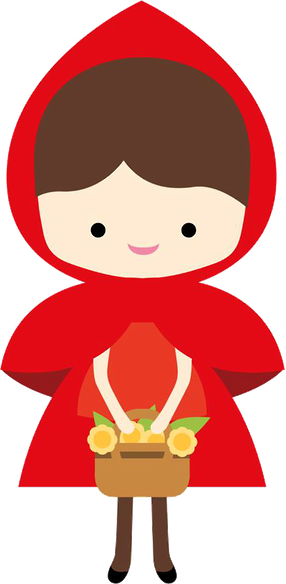 Red Riding Hood clipart Com Minus Bueno Bueno Selma